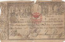 Portugal 20000 Reis 1799 - Pedro IV - Guerre des 2 Frères - 1826