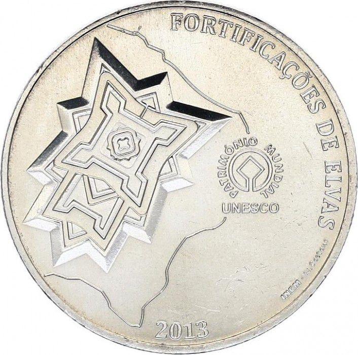 Portugal 2.5 Euro, Fortification de Elvas - 2013