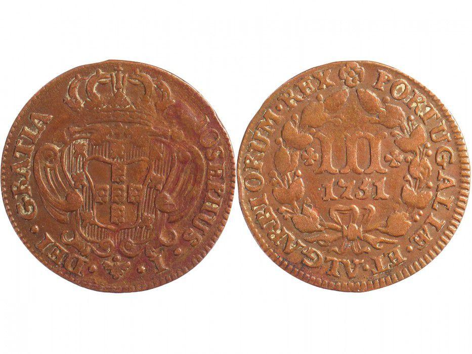 Portugal 3 Reis Jose I - Arms
