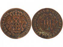 Portugal 3 Reis Maria I et Petrus III