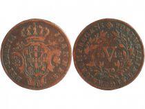 Portugal 5 Reis John - Regency - Arms