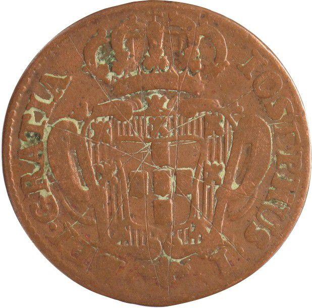 Portugal 5 Reis Jose I - Arms