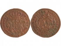 Portugal 5 Reis Maria I - Armoiries