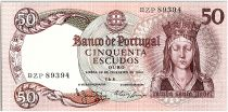 Portugal 50 Escudos - Reine Isabella - 1964