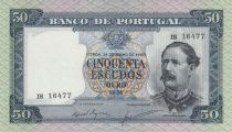 Portugal 50 Escudos Fontes Pereira de Mello - 1960