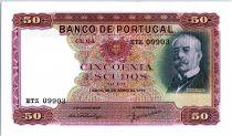 Portugal 50 Escudos Ramalho Ortigao - 1949