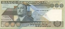 Portugal 5000 Escudos Antonio Sergio de Sousa