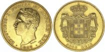 Portugal 5000 Reis - Louis I - 1887 Or