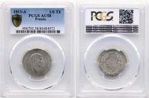 Prusse 1/6 Thaler Friedrich III - Armoiries - 1813 A - PCGS AU 58