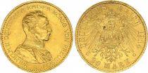 Prusse 20 Mark Wilhelm II - Aigle Impériale 1914 A Berlin