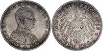 Prusse 5 Mark Wilhelm II - Aigle Impériale 1913 A Berlin