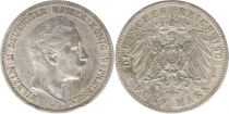 Prusse 5 Mark Wilhelm II - Armoiries - 1902 A