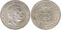 Prusse 5 Mark Wilhelm II - Armoiries - 1902 A