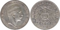 Prusse 5 Mark Wilhelm II - Armoiries - 1904 A