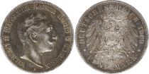 Prusse 5 Mark Wilhelm II - Armoiries - 1908 A