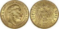 Prussia 20 Mark Wilhelm II - Imperial Eagle 1894 A Berlin - Gold