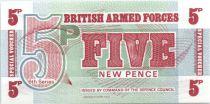 Regno Unito 5 New Pence - Imprimeur BWC - 1972