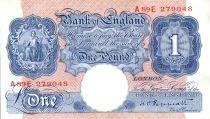 Reino Unido 1 Pound ND1940-41