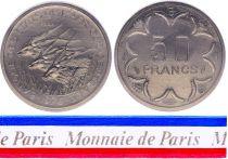 Rép. Centrafricaine 50 Francs - 1976 - Essai