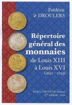 Rep. Gal des Monnaies 1610-1793 Droulers 2012