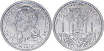 Réunion 1 Franc Marianne - 1948