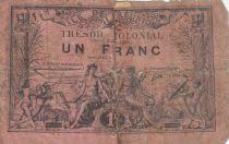 Réunion 1 Franc Trésor Colonial - 1879 (1881)