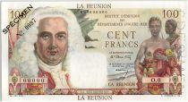 Réunion 100 Francs La Bourdonnais 1960