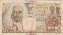 Réunion 100 Francs ND1946 - La Bourdonnais (sans Département) - Série B.50