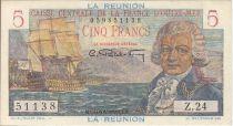 Réunion 5 Francs Bougainville - 1947 Série Z.24