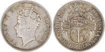 Rhodésie du Sud 1/2 Crown George VI - 1937 Argent