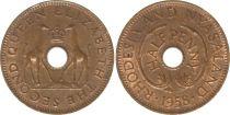 Rhodésie et Niassanland ½ Penny 1958 - Armoiries, girafes