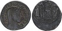 Roma Republic Denarius,  Aemilia 62 BC Rome - F
