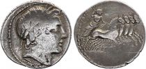 Roma Republic Denarius,  Anonymous 86 BC Rome - F+
