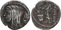 Roma Republic Denarius,  Cassia 63 BC Rome - F+