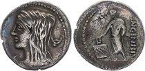 Roma Republic Denarius,  Cassia 63 BC Rome - VF