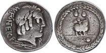 Roma Republic Denarius,  Fonteia 85 BC Rome - F+