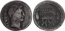 Roma Republic Denarius,  Lollia 45 BC Rome - F