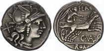 Roma Republic Denarius,  Valeria 140 BC Rome - VF+