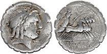 Roma Republic Denarius Serratus,  Antonia 83 BC Rome - F