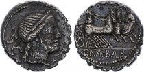 Roma Republic Denarius Serratus,  Naevia 79 BC Rome - VF