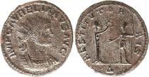 Roman Empire Antoninianus, Aurelianus  (274-275) - IMP C AVRELIANVS INVICTV AVG