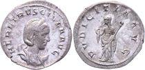 Roman Empire Antoninianus, Etruscilla (249-251) - PVDICITIA Standing