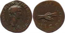 Roman Empire As,  Nerva (96 - 98) - CONCORDIA EXERCITVVM S C