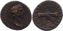 Roman Empire As,  Nerva (96 - 98) - CONCORDIA EXERCITVVM S C