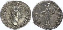 Roman Empire Denarius,  Antoninus Pius - 148-149 Rome - COS IIII - VF+