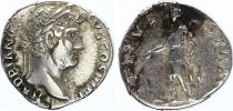 Roman Empire Denarius,  Hadrian - 133 Rome - TELLVS STABIL - VF