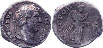 Roman Empire Denarius,  Hadrian - 134-138 Rome