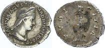 Roman Empire Denarius,  Sabina - 131 Rome - PVDICITIA - F to VF