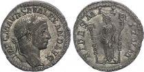 Roman Empire Denarius,  Severus Alexander - 225 Rome - FIDES MILITVM - XF