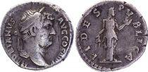 Roman Empire Denarius, Hadrian (117-138) - FIDES PVBLICA